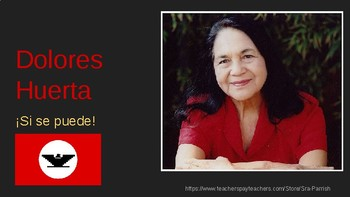 Dolores Huerta Power Point in Spanish