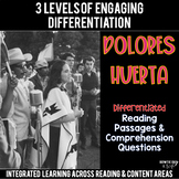 Dolores Huerta Reading Passages Leveled Texts