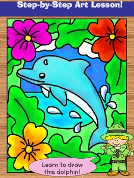 Dolphin Art Lesson