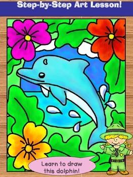 Dolphin Art Lesson
