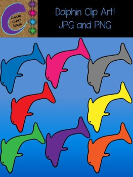 Dolphin Clip Art  Color Images