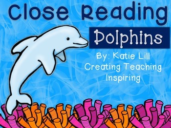 Close Reading--Dolphins
