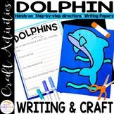 Dolphin Craft | Under the Ocean Crafts | Sea Bulletin Board Craft