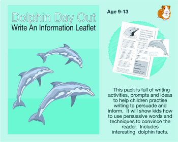 Dolphin Day Out: Write An Information Leaflet (9-13 years)