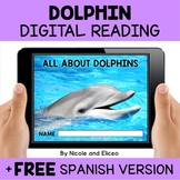 Dolphin Reading Comprehension for Google Classroom
