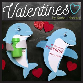 Dolphin Hugger Valentine