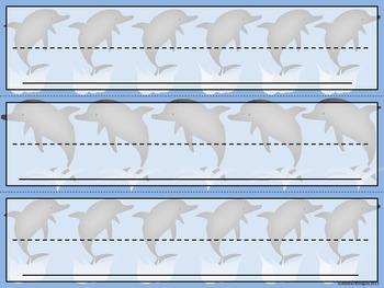 Dolphin Name Plates