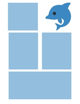Dolphin Newsletter Template