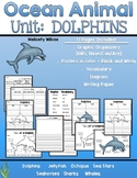 Dolphin Nonfiction Unit Graphic Organizers Posters and Writing Paper