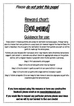 Dolphin Reward Chart