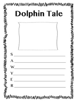 Dolphin Tale: Acrostic Poem Activity