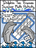Dolphin Math Activities: Dolphin Ten Frames Summer Math Activity Packet