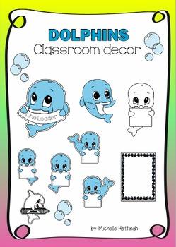 Dolphin fun for Classroom decor
