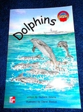 Dolphins Book McGraw-Hill Leveled Book 2nd Grade Reading Level - Like New Softco