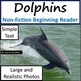 Dolphins: Non-fiction animal e-book for beginning readers