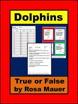 Is a Dolphin a Fish? True or False