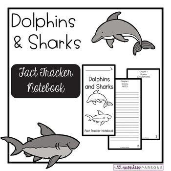 Dolphins and Sharks Research Guide {Fact Tracker}