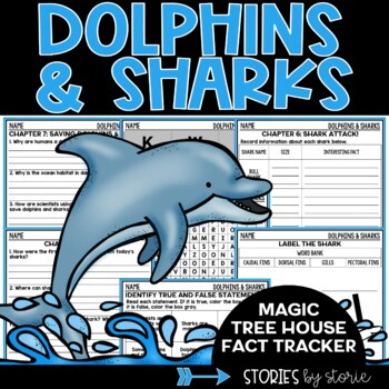 Dolphins and Sharks (Magic Tree House Fact Tracker & Nonfiction Companion)