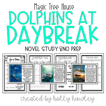 Dolphins at Daybreak-A Magic Tree House Guided Reading Activity