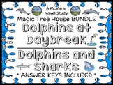 Dolphins at Daybreak   Dolphins and Sharks : Magic Tree House BUNDLE  (46 pages)