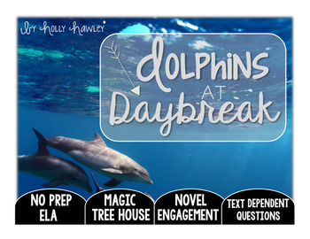 Dolphins at Daybreak: Text Dependent Questions