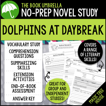 Dolphins at Daybreak - Magic Tree House