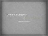 Domain 2 Lesson 3 quiz