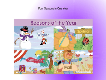 Domain 6: Four Seasons in one year