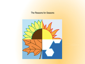 Domain 6: The reasons for seasons