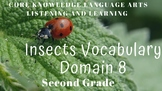 Domain 8 Insects Core Vocabulary