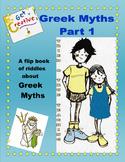 Domain - Greek Myths: A Flip Book of Riddles Part 1