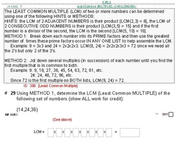 Domain NS (Grades 6-8) UNIT: GIFTED/CHALLENGING topics (4 worksheets;7 quizzes)