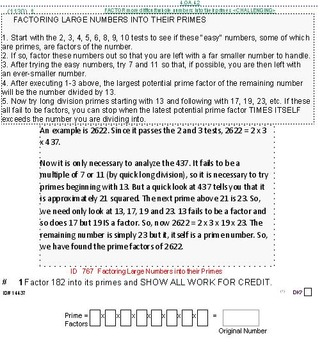 Domain OA (Grades k-5) UNIT: GIFTED/CHALLENGING topics (4 worksheets;7 quizzes)