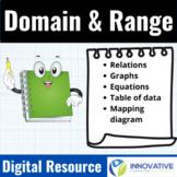 Domain & Range - Digital Interactive Activity