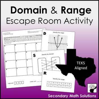 Domain & Range Activity (A2A, A12A)