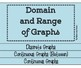 Domain & Range FOLDABLE & INB Matching Page