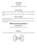 Domain/ Range Notes