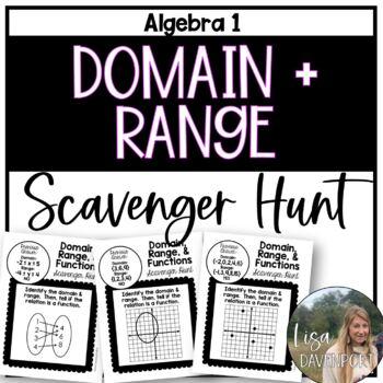 Domain & Range (Scavenger Hunt)