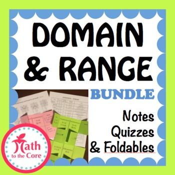 Domain and Range of a Graph Bundle