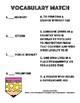 Domain Specific Vocabulary Activities