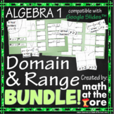 Domain and Range - BUNDLE - GOOGLE Slides
