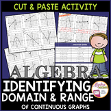 Identifying the Domain and Range