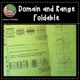 Domain and Range Foldable