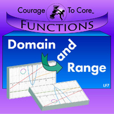 Domain and Range (LF7): 8.F.A.1, HSF.IF.A.1, HSF.IF.A.2