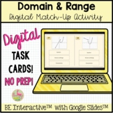 Domain and Range Match-Up for Google Slides™ Distance Learning