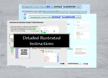 Domain and Range Match Up with Interactive GOOGLE Slides