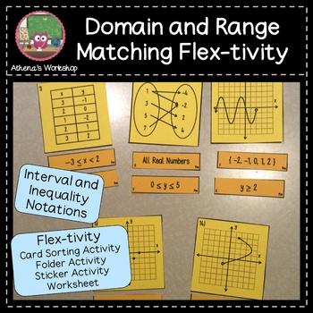 Domain and Range Matching Flex-tivity