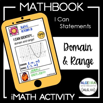 Domain and Range Activity - Mathbook
