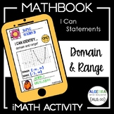 Domain and Range Activity - Mathbook