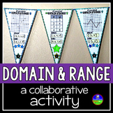 Domain and Range Math Pennant